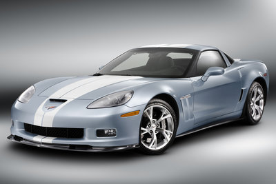 2011 Chevrolet Corvette Carlisle Blue Grand Sport