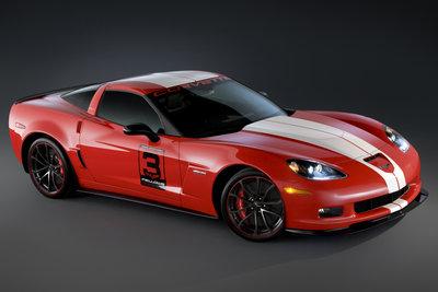2011 Chevrolet Corvette Z06 Ron Fellows Hall of Fame Tribute