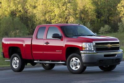 2011 Chevrolet Silverado HD Extended Cab