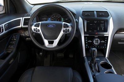 2011 Ford Explorer Instrumentation