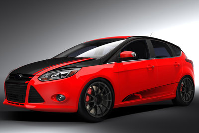 2011 Ford Focus by Steeda