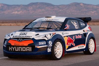 2011 Hyundai 2011 U.S. Rallycross Championship Veloster