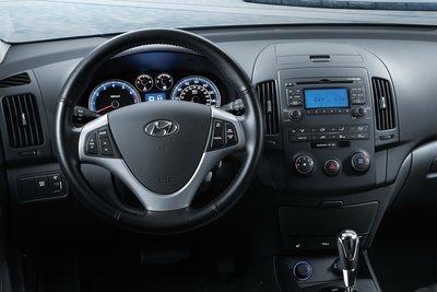 2011 Hyundai Elantra Touring Instrumentation