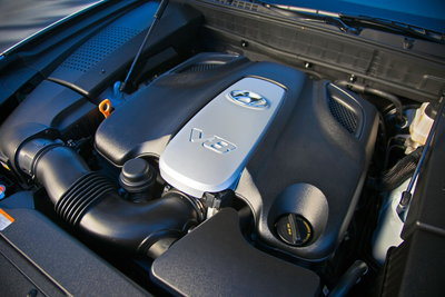 2011 Hyundai Equus Engine