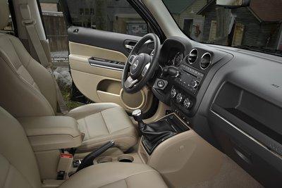 2011 Jeep Patriot Interior