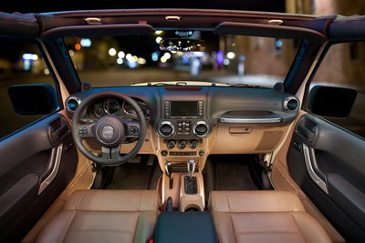 2011 Jeep Wrangler Instrumentation