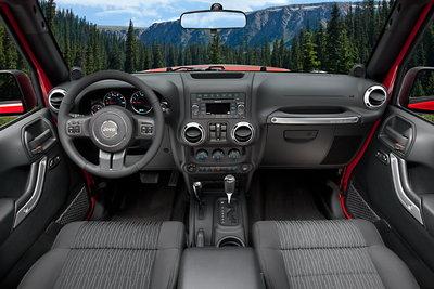 2011 Jeep Wrangler Unlimited Instrumentation