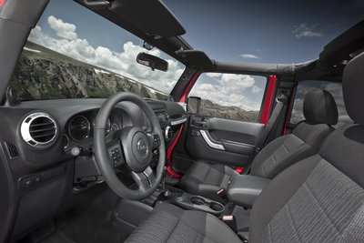 2011 Jeep Wrangler Unlimited Interior