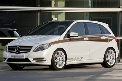 2011 Mercedes-Benz B-Class E-CELL PLUS