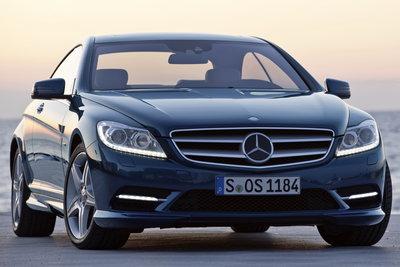2011 Mercedes-Benz CL-Class CL550 4MATIC