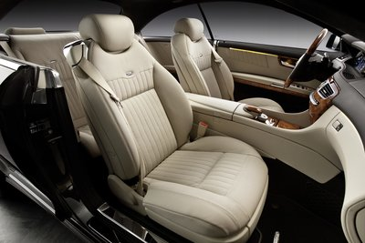 2011 Mercedes-Benz CL-Class CL600 Interior