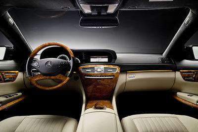 2011 Mercedes-Benz CL-Class CL600  Instrumentation