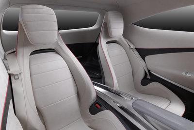 2011 Mercedes-Benz Concept A-Class Interior