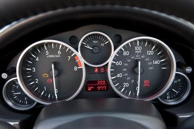 2011 Mazda MX-5 Instrumentation