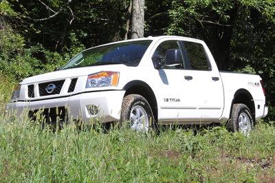 2011 Nissan Titan Pro-4X Crew Cab