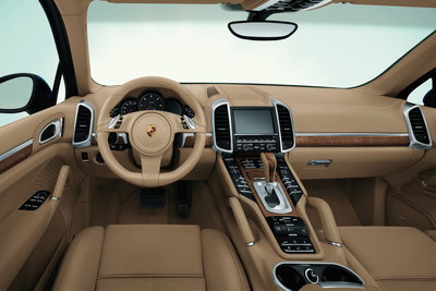 2011 Porsche Cayenne Instrumentation