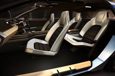 2011 Subaru Advanced Tourer Concept Interior