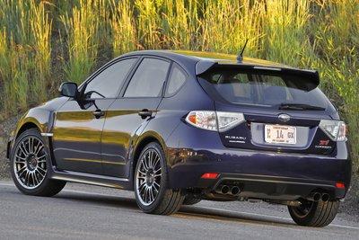 2011 Subaru Impreza WRX STI 5-door