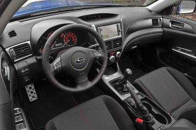 2011 Subaru Impreza WRX Interior