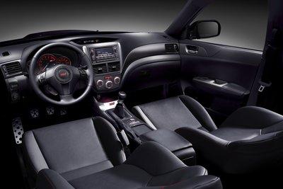 2011 Subaru Impreza WRX STI Interior