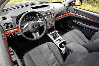 2011 Subaru Legacy Sedan Interior