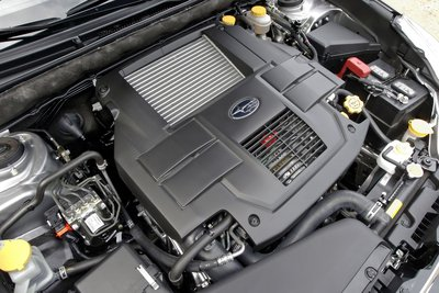 2011 Subaru Legacy Sedan Engine