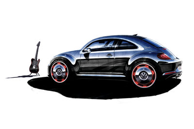 2011 Volkswagen Beetle Fender