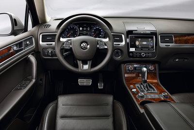 2011 Volkswagen Touareg Instrumentation