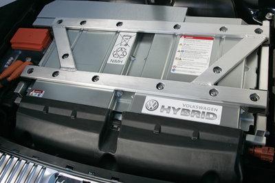 2011 Volkswagen Touareg Hybrid Engine