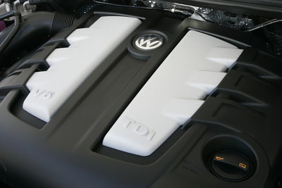 2011 Volkswagen Touareg TDI Engine