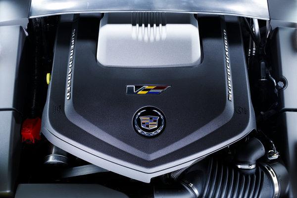 2012 Cadillac CTS-V Engine