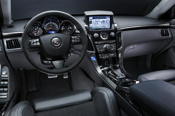 2012 Cadillac CTS-V Interior