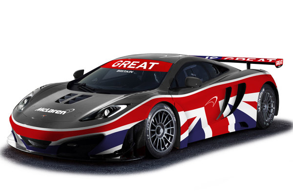 2012 McLaren MP4-12C GT3