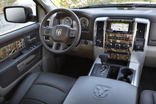 2012 Ram Ram 1500 Crew Cab Interior