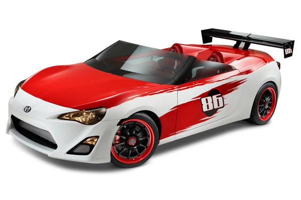 2012 Scion FR-S Speedster Show Car