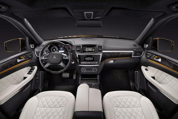 2013 Mercedes-Benz GL-Class Interior