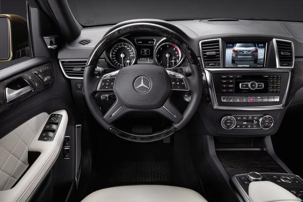 2013 Mercedes-Benz GL-Class Instrumentation