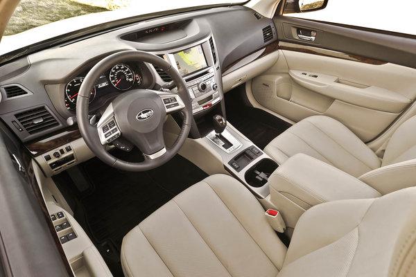 2013 Subaru Legacy Sedan Interior