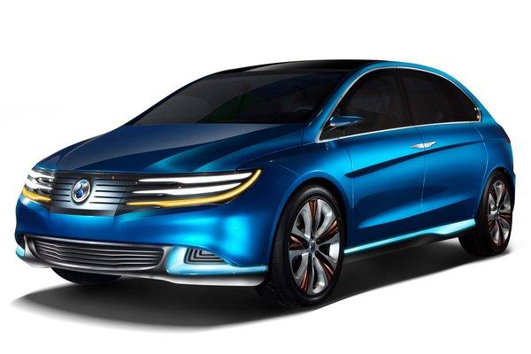 2012 Denza electric vehicle