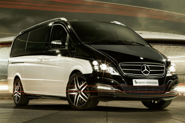 2012 Mercedes-Benz Viano Vision Diamond
