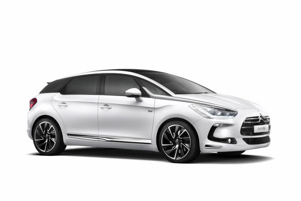 2013 Citroen DS5 Pure White