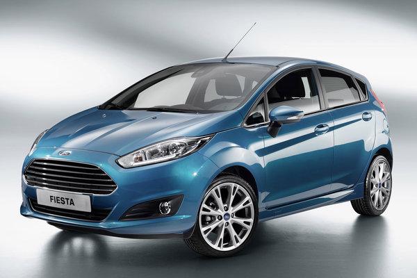 2013 Ford Fiesta 5d
