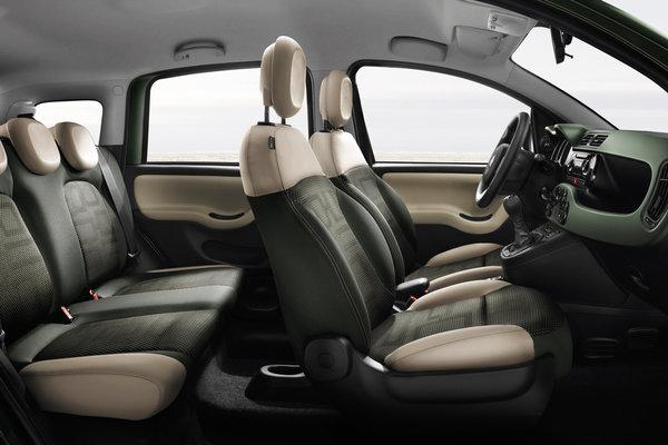 2013 Fiat Panda 4x4 Interior