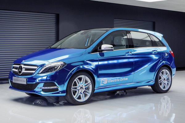 2012 Mercedes-Benz Concept B-Class Electric Drive