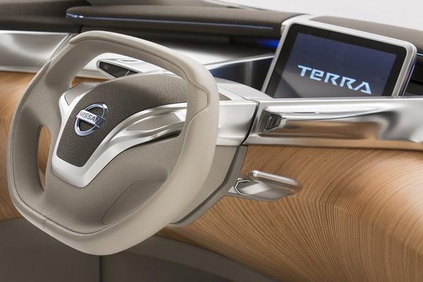 2012 Nissan Terra Instrumentation