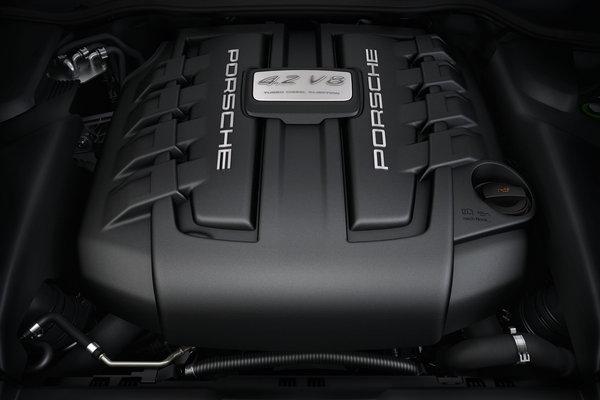 2013 Porsche Cayenne S Diesel Engine