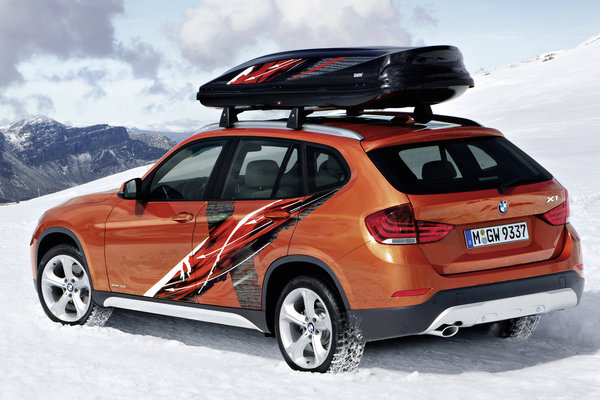 2012 BMW Concept K2 Powder Ride