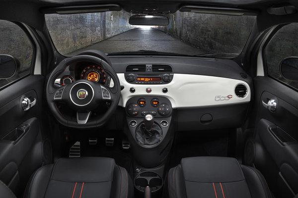 2013 Fiat 500 C Abarth Interior