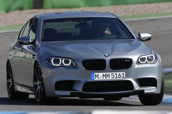 2014 BMW 5-Series M5 sedan