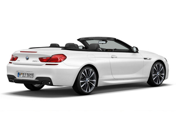 2014 BMW 6-Series Convertible Frozen White Edition